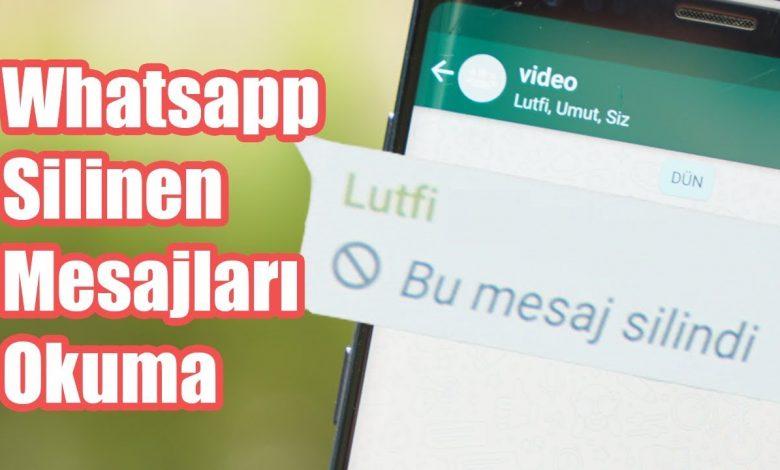 WhatsApp Silenen Mesajları Görme: Geçmiş Sohbet Yedeği Yükleme