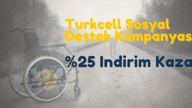 Turkcell Sosyal Destek Kampanyası: Engelli Tarifeleri