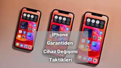 iPhone Garantiden Cihaz Değişimi