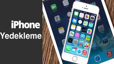 iPhone Yedekleme Nasıl Yapılır? iCloud, iTunes Yedekleme