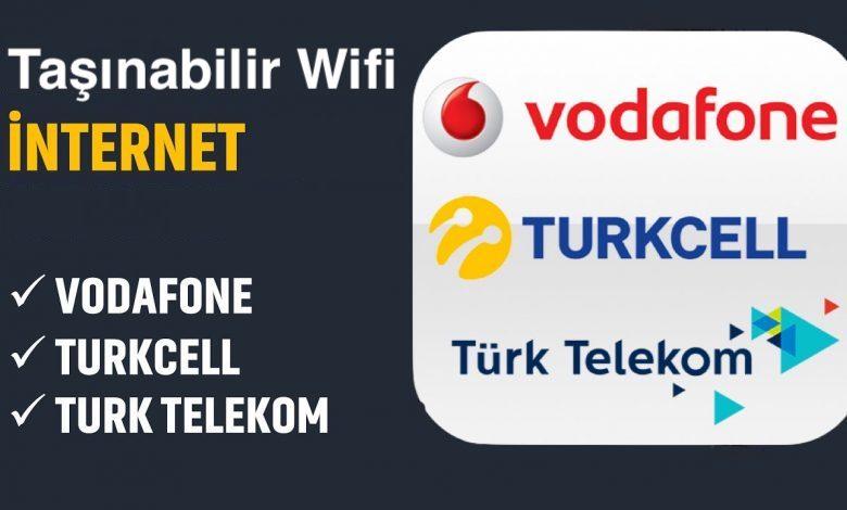 Taşınabilir Wifi İnternet Fiyatları