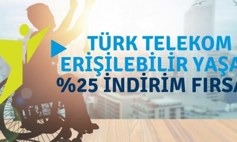 Türk Telekom Engelli İndirimli Kampanyalar ve Tarifeler