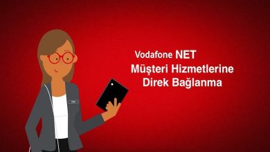 Vodafone Net İletişim Müşteri Hizmetleri Direk Bağlanma