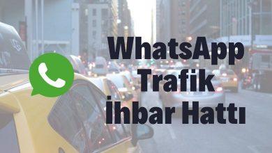 Whatsapp Trafik İhbar Hattı