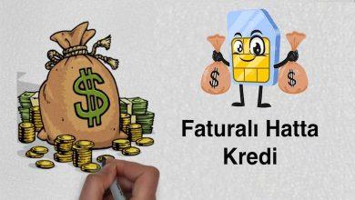 Faturalı Hatta Kredi Alma